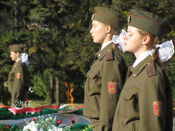 Irkutsk to the unknown soldier