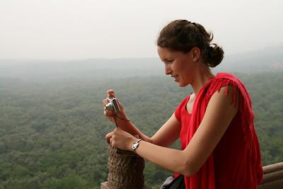 Catching the panorama from top of the Linggu Pagoda, Nanjing