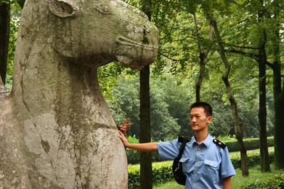 Path to the Ming Xiaoling Mausoleum, Nanjing