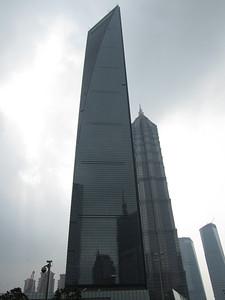 Shanghai World Financial Center, 492 metres high