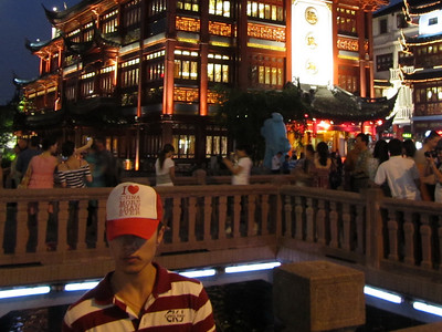 Shanghai's old town, 'I love China more than ever'