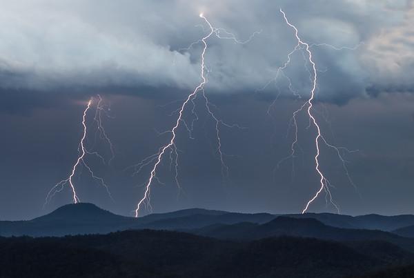 Watagan Lightning
