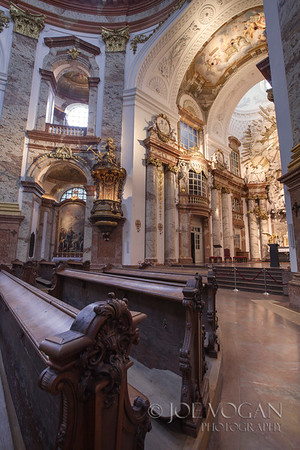 St. Charles Church or Karlskirche, Vienna, Austria