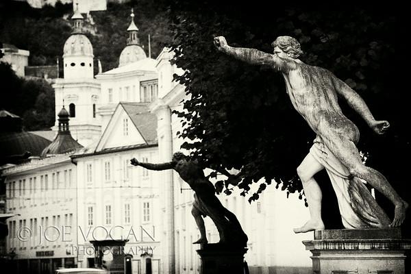 Mirabell Palace and Gardens designed by Fischer von Erlach, Salzburg, Austria