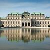 Reflecting Pond, Upper Belvedere, Vienna, Austria