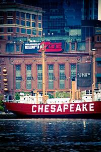 United States lightship Chesapeake, Baltimore Inner Harbor