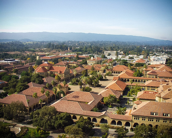 View from Hoover Tower