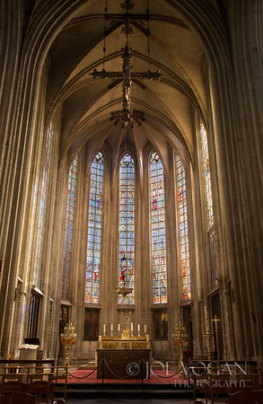 Our Blessed Lady of the Sablon Church, Brussels, Belgium