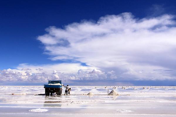 Bolivian Salt Mining