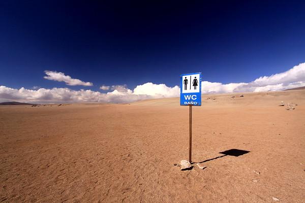 Desert Toilet