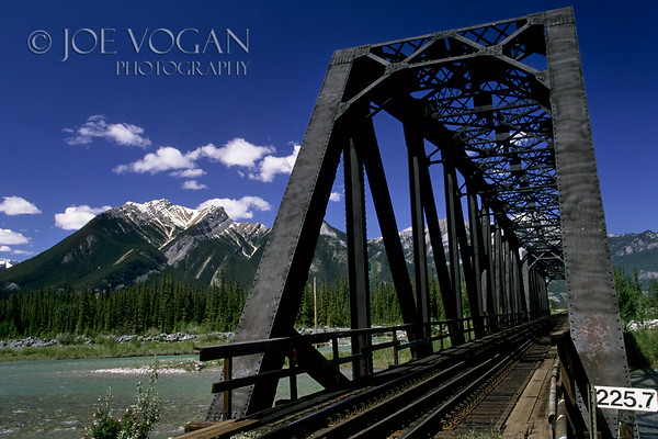 Train Trestle, Jasper National Park, Alberta, Canada