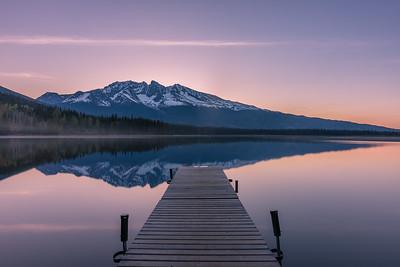 Dennis Lake and Hudson Bay Mountain