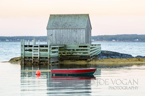 Harbor, Blue Rocks, Nova Scotia, Canada