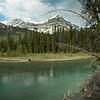 Mistaya Oxbow, Icefields Parkway, Alberta, Canada
