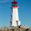 Peggy's Cove Lighthouse, St. Margarets Bay, Nova Scotia, Canada