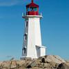 Peggy's Cove Lighthouse, St. Margarets Bay, Nova Scotia, Canada