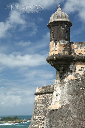 Fort San Felipe del Morro or Morro Castle, Old San Juan, San Juan National Historic Site, Puerto Rico