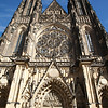 St. Vitus Cathedral or St. Wenceslas and St. Adalbert Cathedral, Prague Castle, Prague, Czech Republic
