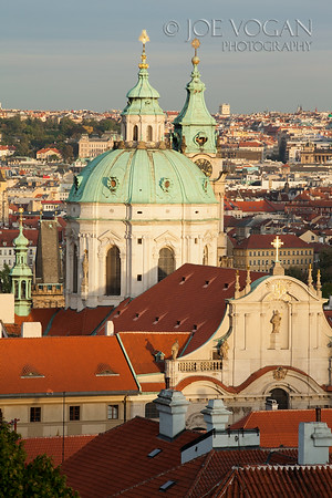 View of Prague from the Prague Castle, Prague, Czech Republic