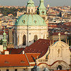 View of Prague from the Prague Castle, Prague, Czech Republic