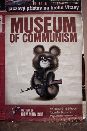 Poster for the Museum of Communism, Prague, Czech Republic