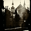 Old Town from Charles Bridge, Prague, Czech Republic