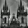 Church of Our Lady before Tyn, Old Town, Prague, Czech Republic