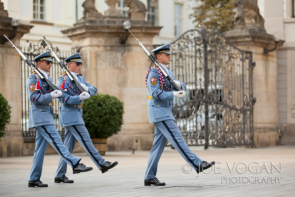 Castle Guard, Prague Castle, Czech Republic