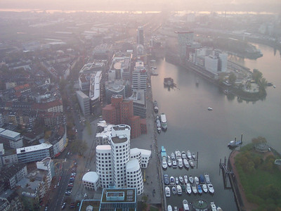 Düsseldorf. From the Rheinturm