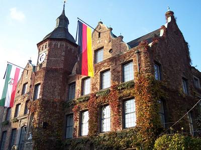 Düsseldorf. Rathaus in Marktplatz