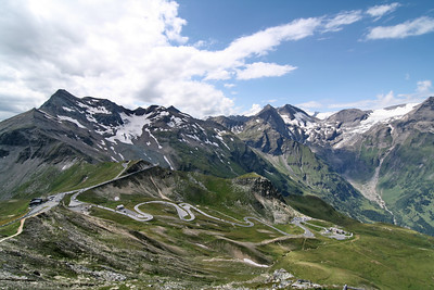 National Park Hohe Tauern. Grossglockner High Alpine Road