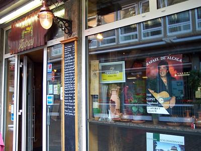 "Düsseldorf. Spanish restaurants and ""The Gipsy vagabond"""