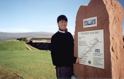 Fort William. The Great Glen Way