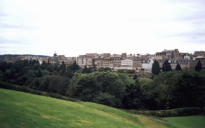 Edinburgh. Princess Street Gardens