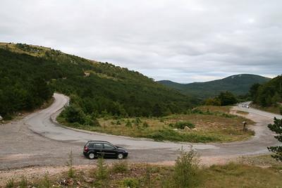 Driving to Senj