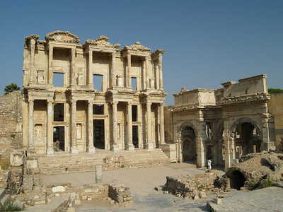 The Celsus Library The Gate of Mazaeus and Mitridates Ephesus, Turkey