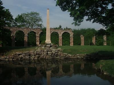 Roman Aquaduct, Schweitzigen Gardens, Germany