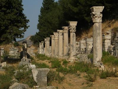 Commercial Agora Ephesus, Turkey