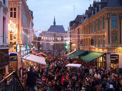 Lille. Marché de Noël