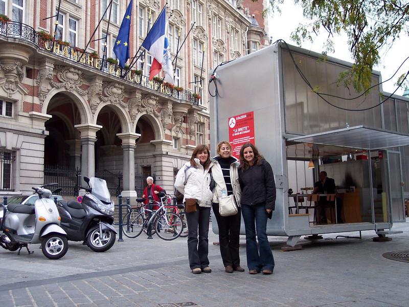 Lille. A tiny restaurant