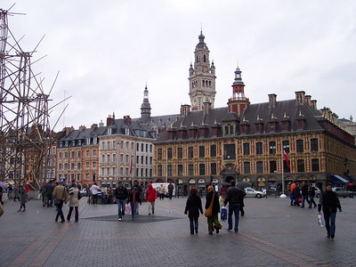 Lille. Grand Place, Vieille Bourse