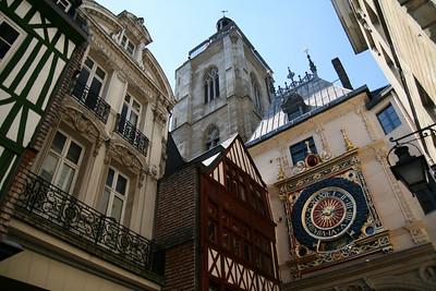 Rouen. Gros Horloge