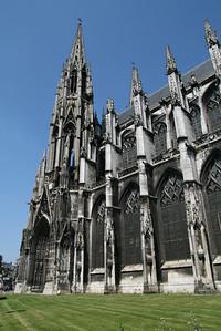 Rouen. Église St-Ouen