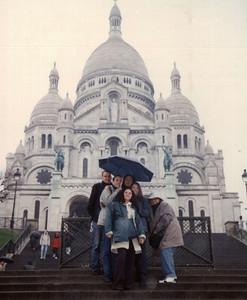 Sacre Cœur. Gustav, David, Ana, Alina...