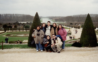 Palace de Versailles. Spanish and Andrew