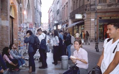 Toulouse. Rue du Taur