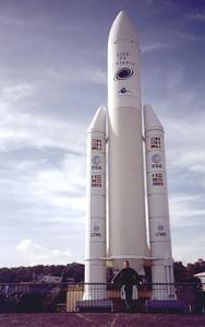 Toulouse. Cité de l'Espace. Ariane 5
