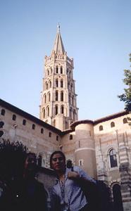 Toulouse. Basilique Saint-Sernin