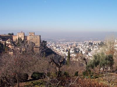 Alhambra. Vista desde el Generalife