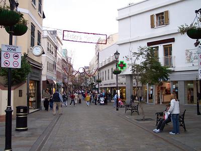 Gibraltar. Main Street